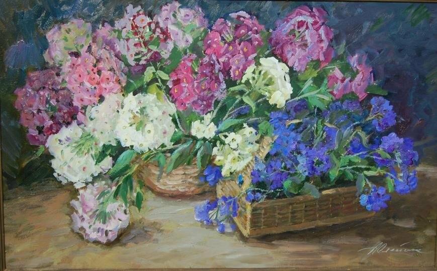 Известной крымской художнице Олейник Анне Петровне исполнилось 93 года, фото-1