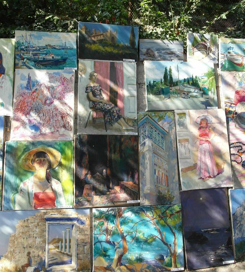 В Алупке провели ежегодную выставку под открытым небом, фото-7