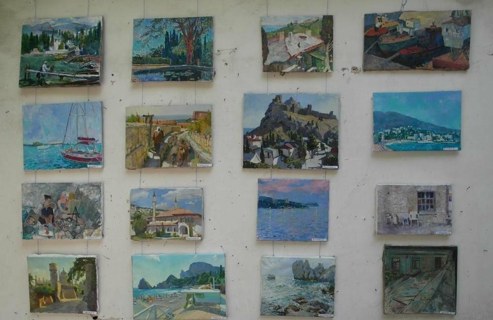 В Алупке провели ежегодную выставку под открытым небом, фото-1