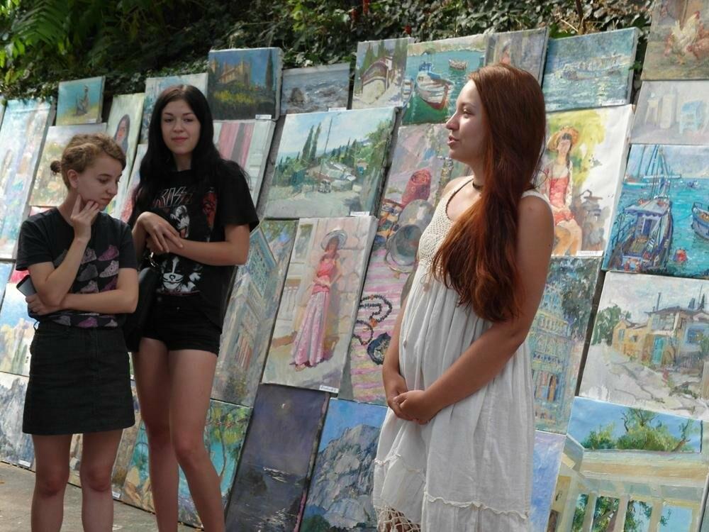 В Алупке провели ежегодную выставку под открытым небом, фото-3