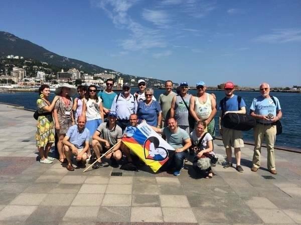 Участники автопробега дружбы «Берлин – Москва» посетили Ялту, фото-1