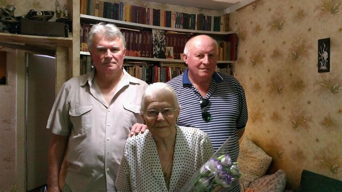 Ялтинцев  поздравили с 90-летним юбилеем, фото-2