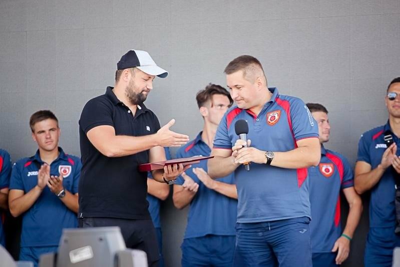 Ялтинцам представили обновленный ФК «Рубин Ялта», фото-2