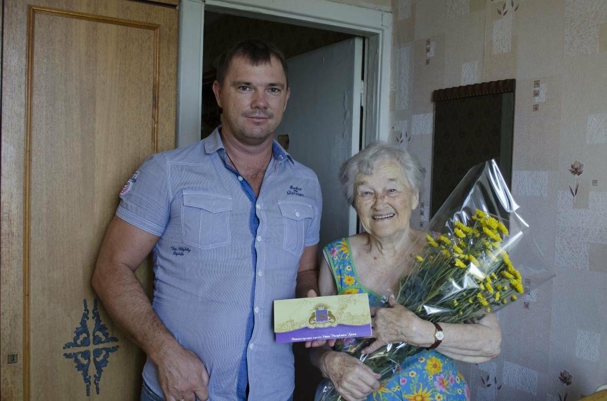 Ялтинок поздравили с 90-летием, фото-1
