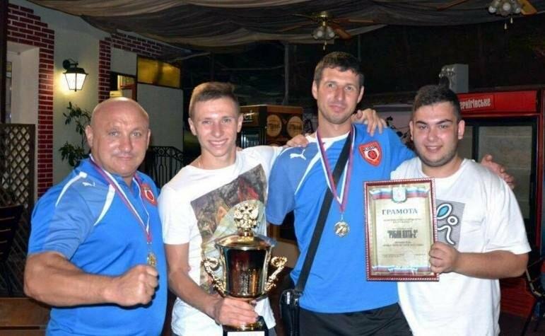 Рубин Ялта-2 — обладатель Кубка первой лиги Ялты по футболу, фото-2