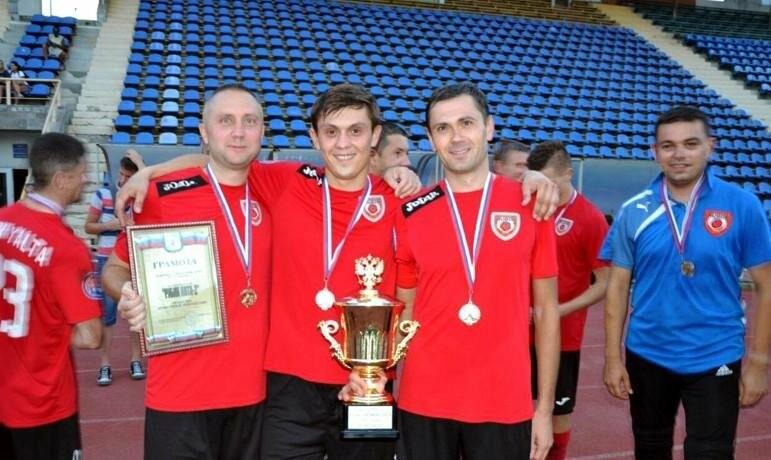 Рубин Ялта-2 — обладатель Кубка первой лиги Ялты по футболу, фото-1