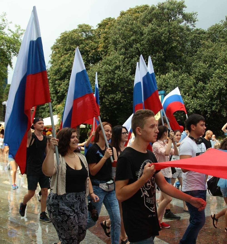 В Ялте отметили День Государственного флага Российской Федерации, фото-1