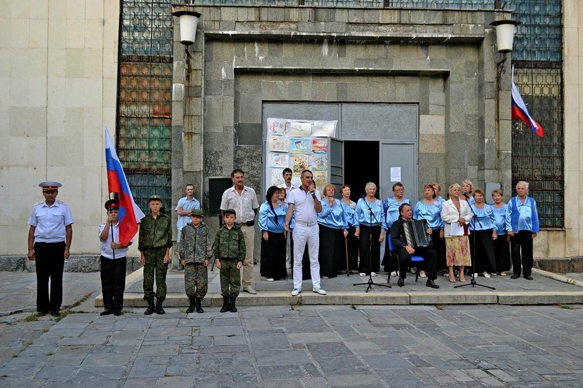 В Алупке и Кореизе отметили день государственного флага, фото-3