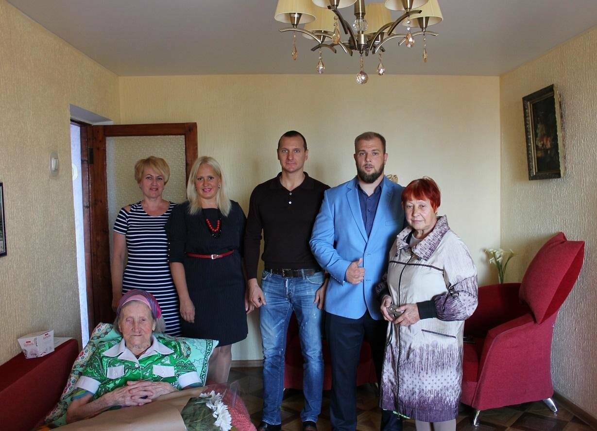 Гаспринский ветеран ВОВ Любовь Марущенко отметила 95 летний юбилей, фото-2