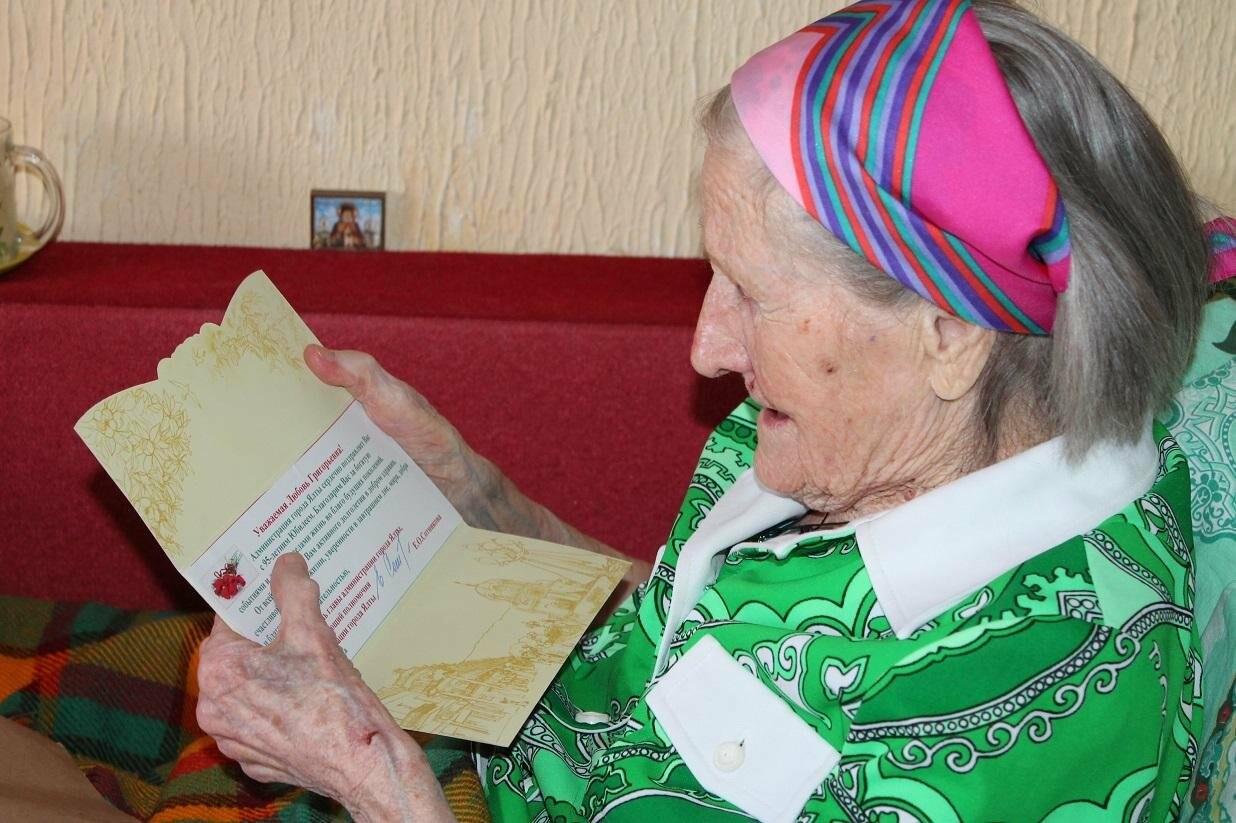 Гаспринский ветеран ВОВ Любовь Марущенко отметила 95 летний юбилей, фото-3