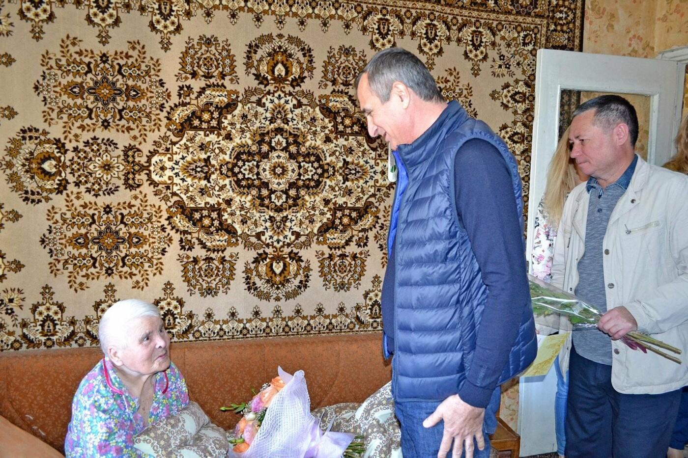 Жительница Кореиза Екатерина Андрющенко отметила 90-летний юбилей, фото-1