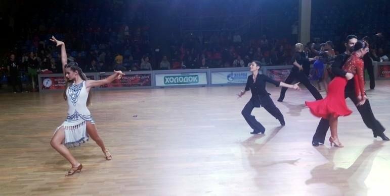 Ялтинские танцоры выступили на Первенстве ЮФО, фото-1
