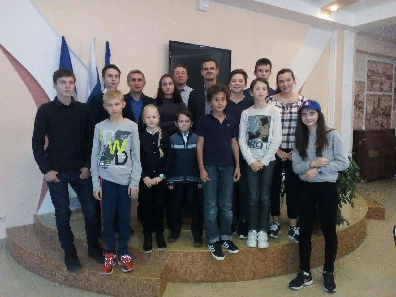 Юные ялтинские шахматисты одержали победу над молодежной командой Франции, фото-3
