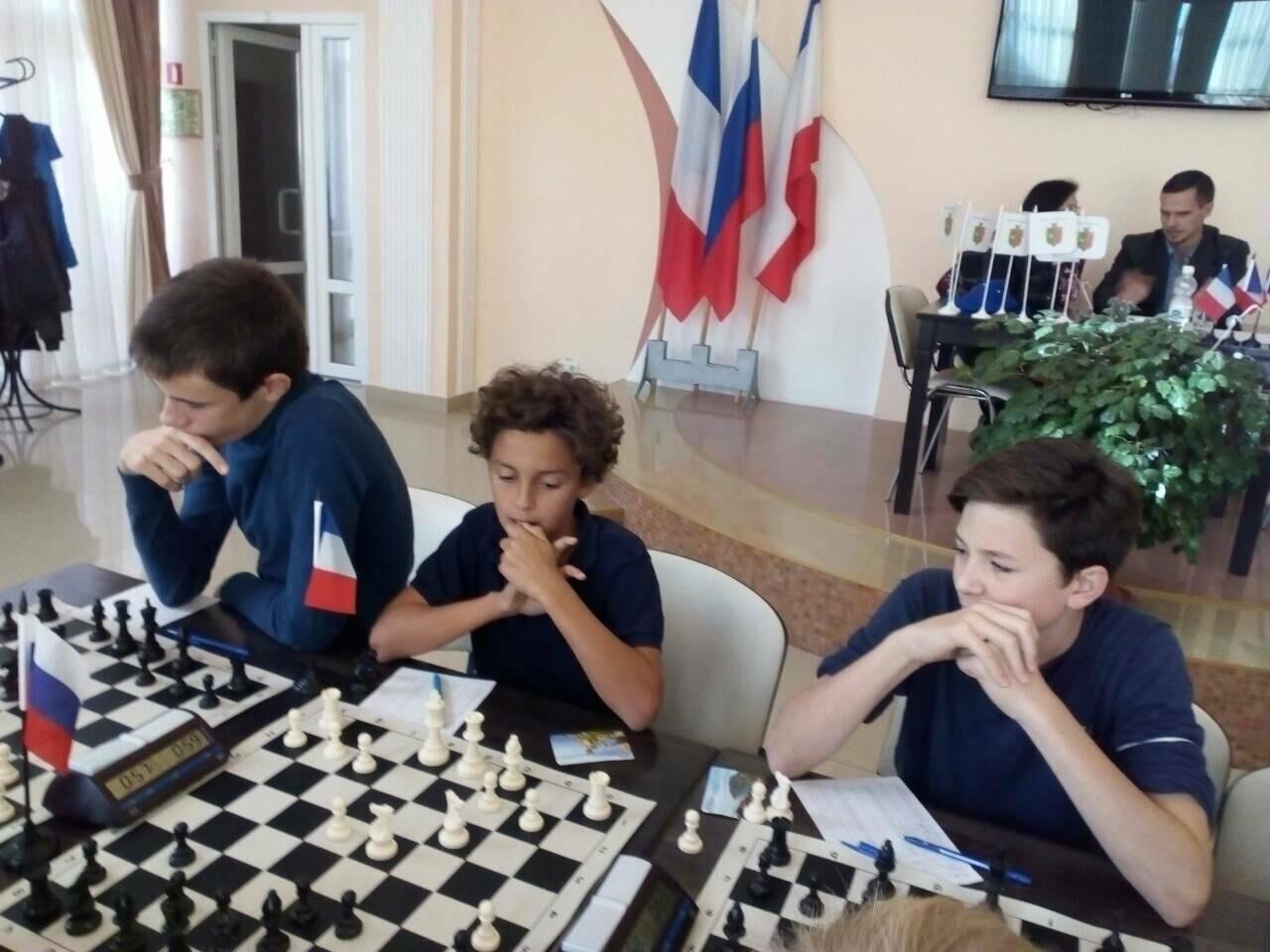 Юные ялтинские шахматисты одержали победу над молодежной командой Франции, фото-2