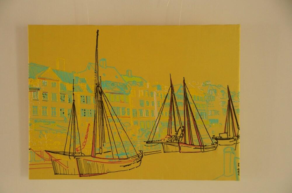 Любава Тарадай представила 77 работ из батика  в художественной галерее Никитского сада , фото-1