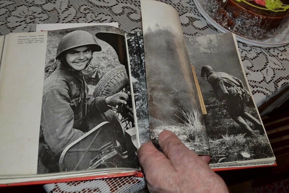 Семью Гаспринского ветерана ВОВ  поздравили с годовщиной Легендарной Битвы под Москвой, фото-1