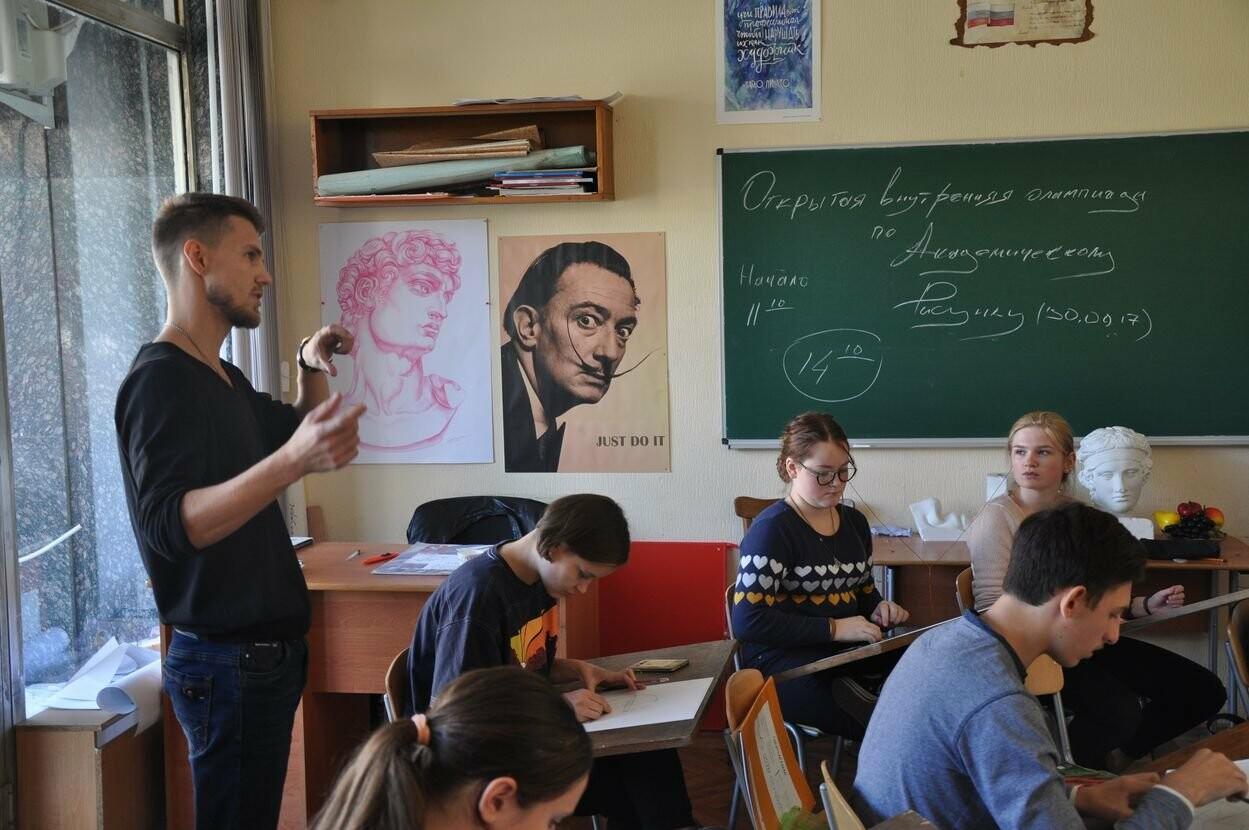 В Ялтинской Академии стартовал цикл олимпиад по академическому рисунку для школьников, фото-2