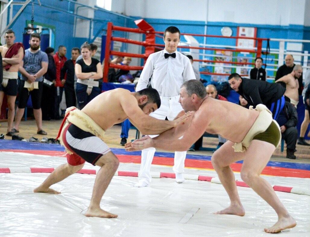 Ялтинцы стали призерами Чемпионата Крыма по сумо, фото-1