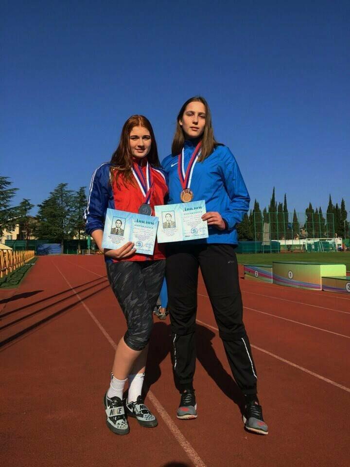 Елизавета Забродова из Ялты -  бронзовый призер Всероссийских соревнований по метаниям памяти А. Лунёва, фото-1