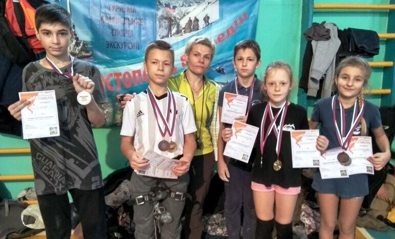 Юные  скалолазы Ялты  отличились в Севастополе, фото-1