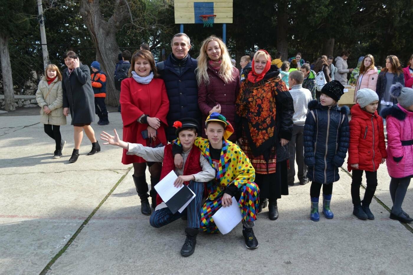 В Алупкинской школе №2 встретили Масленицу, фото-2