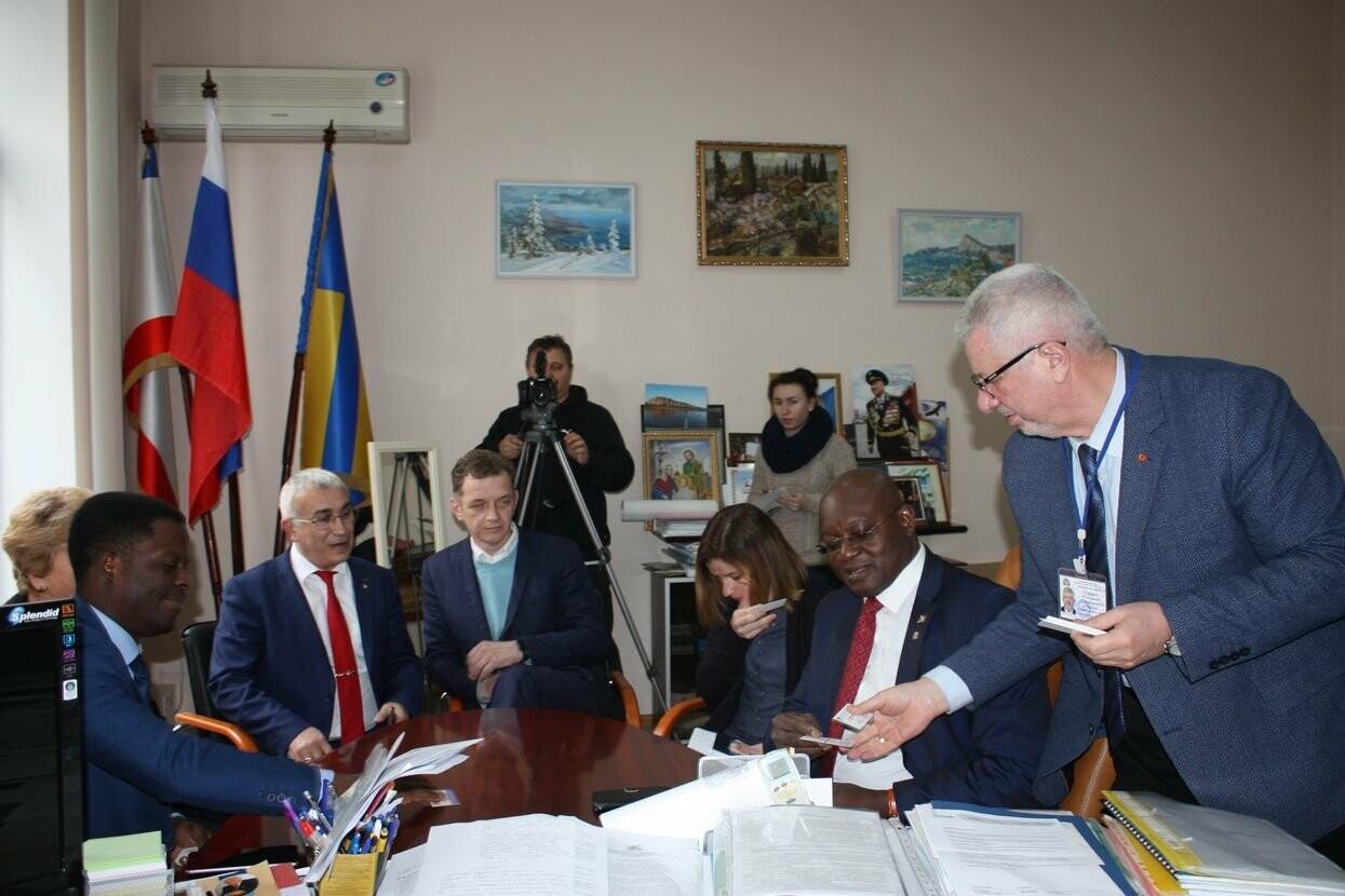 Ялтинскую ГПА посетила делегация из Бенина, фото-4