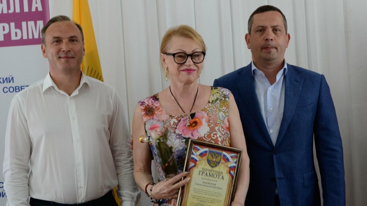 В Администрации города наградили лучших ялтинцев, фото-2