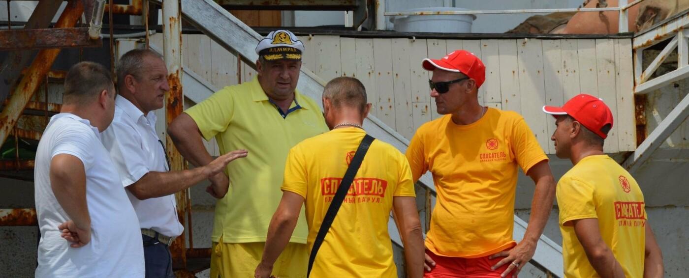 В Ялте тренировали матросов-спасателей, фото-1