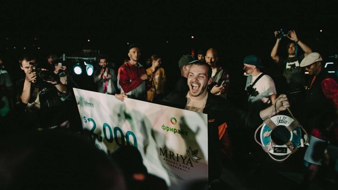 В Ялте определили призеров Кубка мира по брейк-дансу , фото-1
