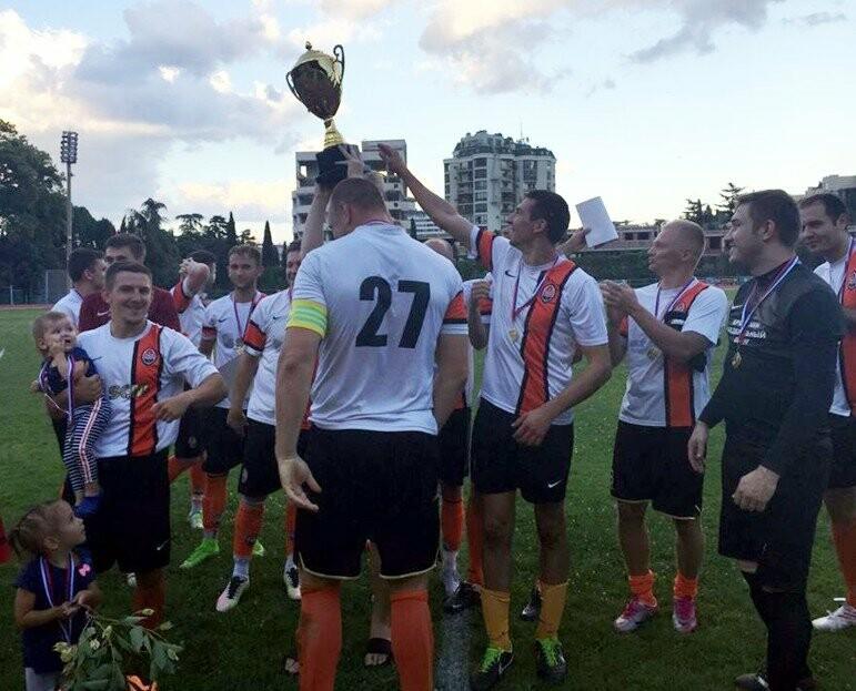 В Ялте стартовал Кубок города по футболу, фото-1