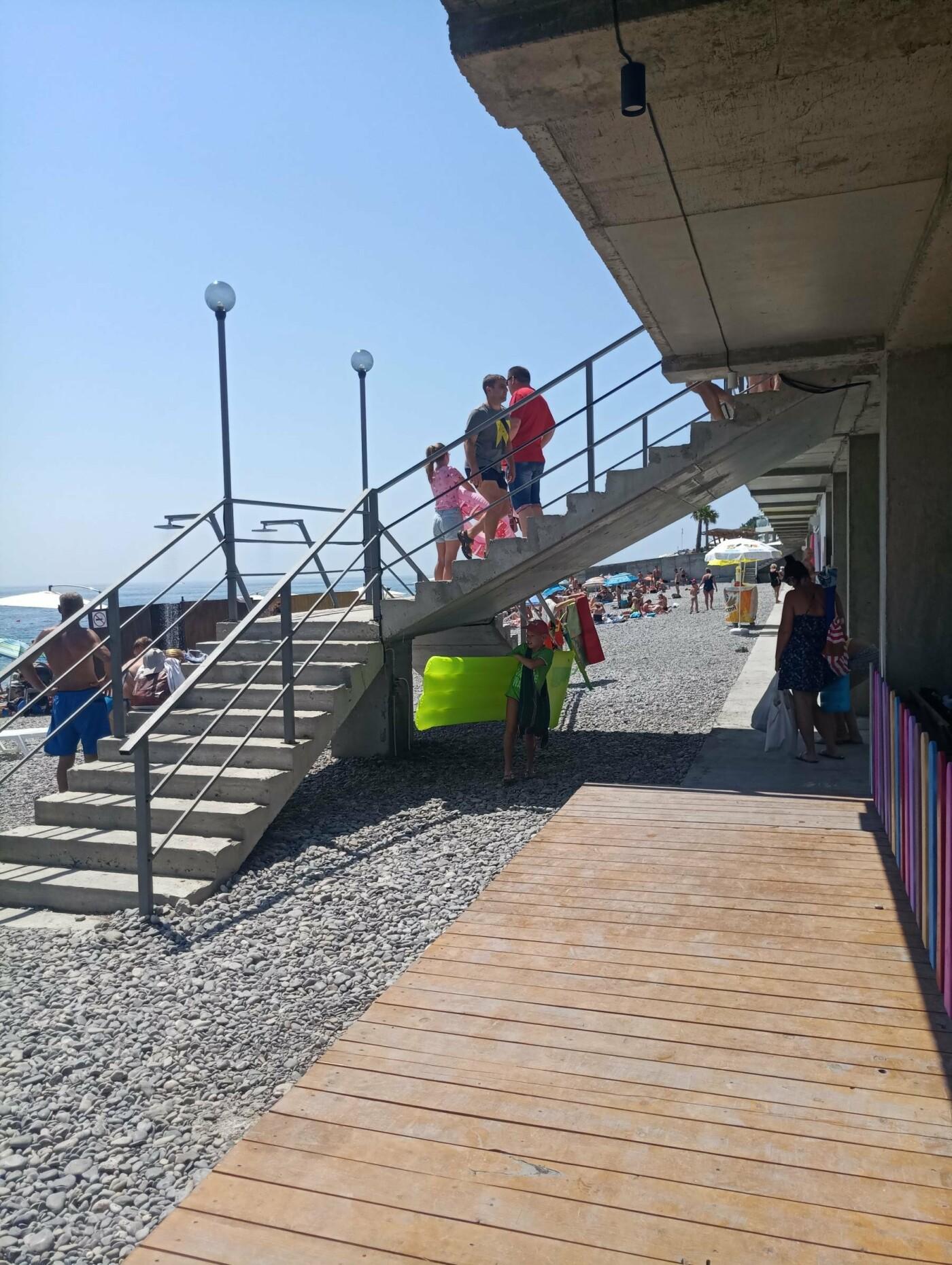 Ялта без барьеров: проверка условно доступного моря, фото-2