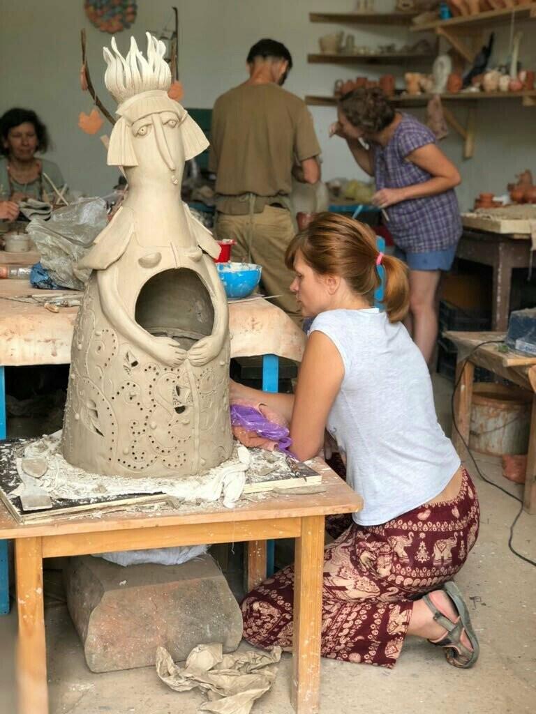 Творческая Ялта: 135 кг глины и «Битвы керамистов» на «Маленькой ферме», фото-4