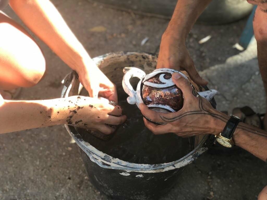 Творческая Ялта: 135 кг глины и «Битвы керамистов» на «Маленькой ферме», фото-5