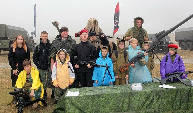 Юные ялтинцы приняли участие в «Гонке героев», фото-4