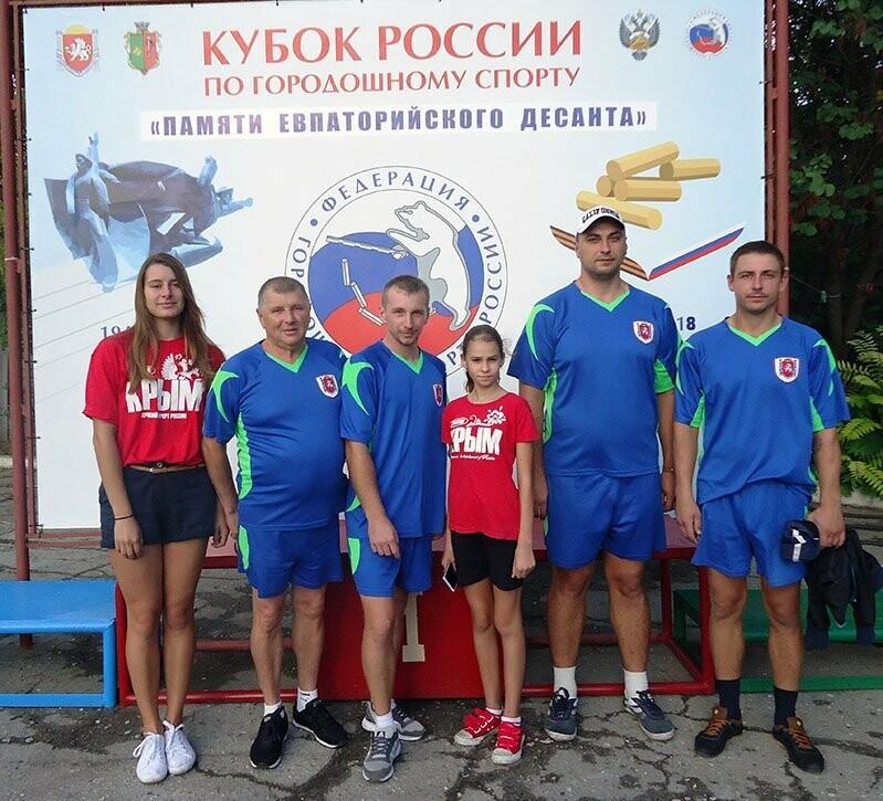 Ялтинцы в составе сборной Крыма стали четвертыми на Кубке России по городкам, фото-1