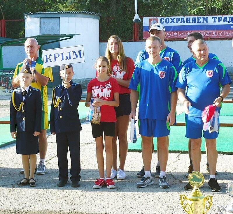 Ялтинцы в составе сборной Крыма стали четвертыми на Кубке России по городкам, фото-4