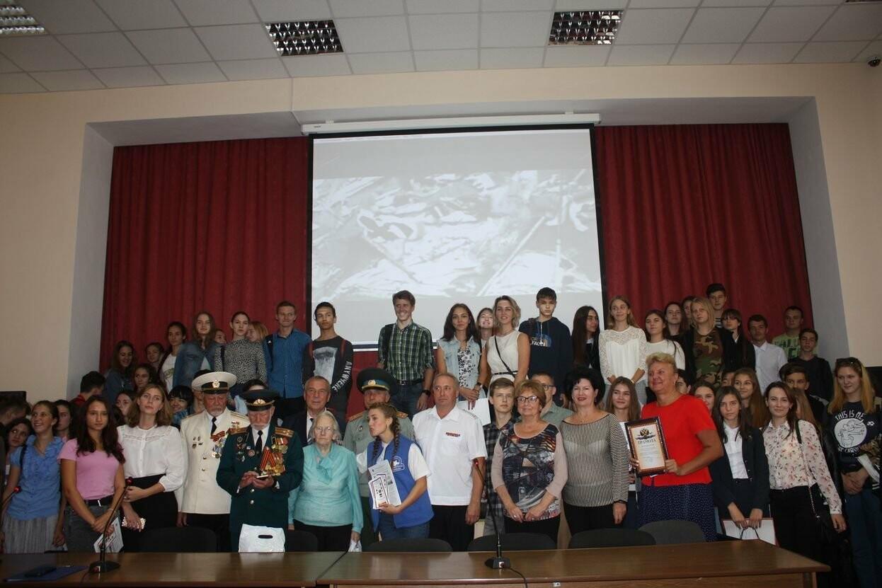 В день празднования государственной символики Крыма, в ялтинской академии прошла встреча с ветеранами, фото-4