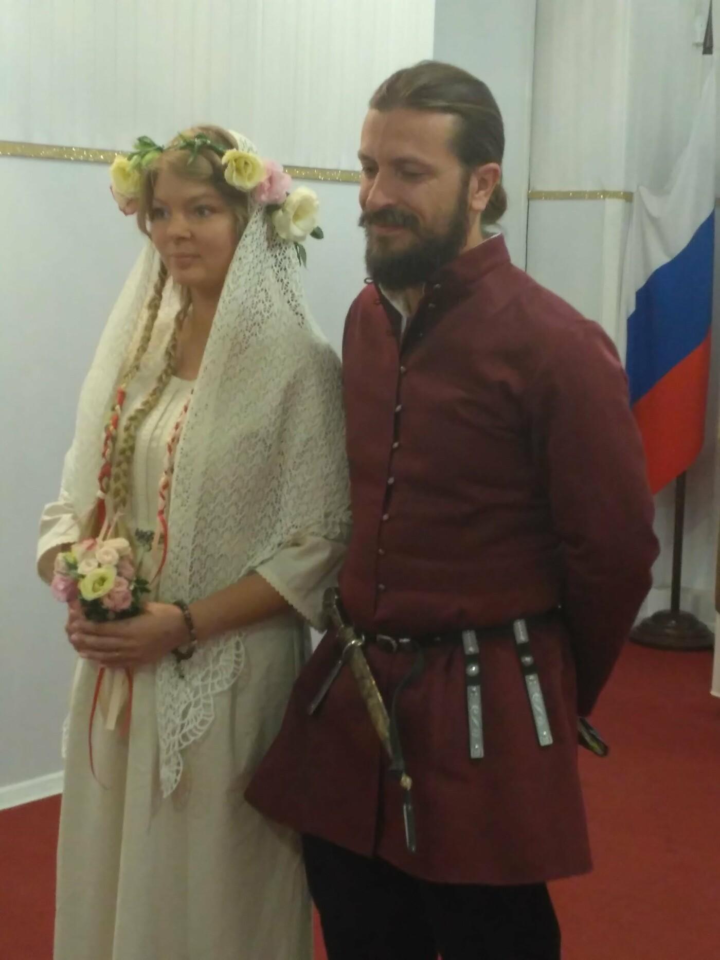 В Ялте провели свадьбу в русском стиле, фото-2