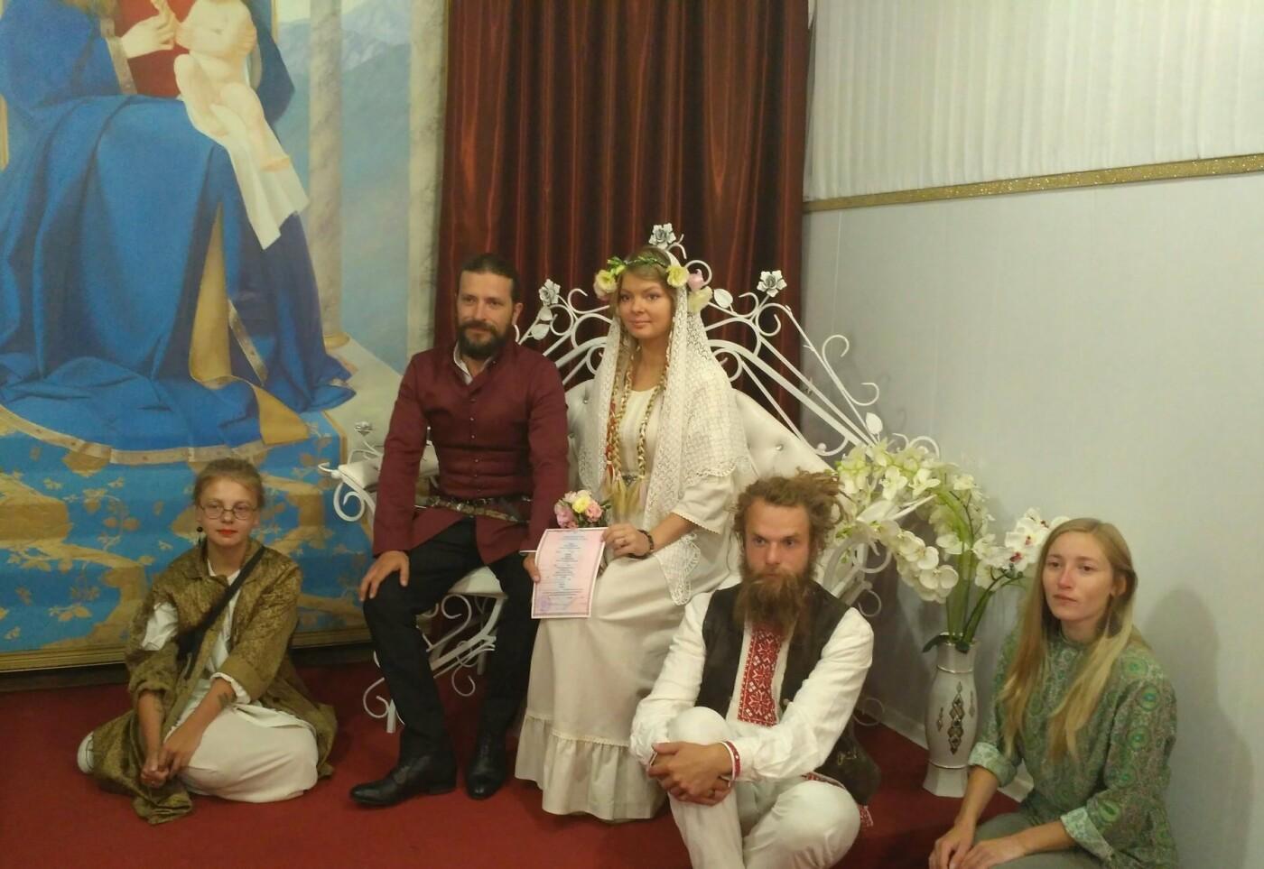 В Ялте провели свадьбу в русском стиле, фото-1
