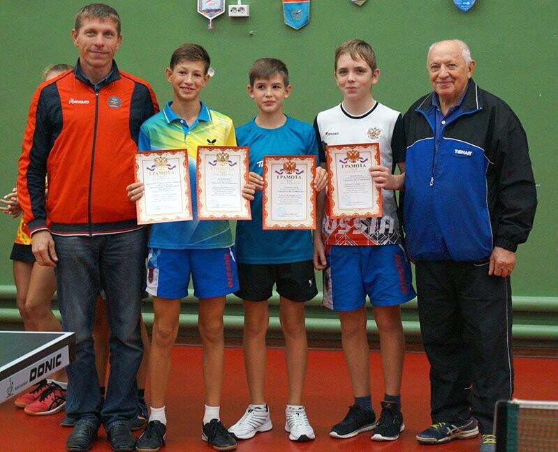 Ялтинские команды выиграли первые туры в Детской лиге Крыма по настольному теннису, фото-12