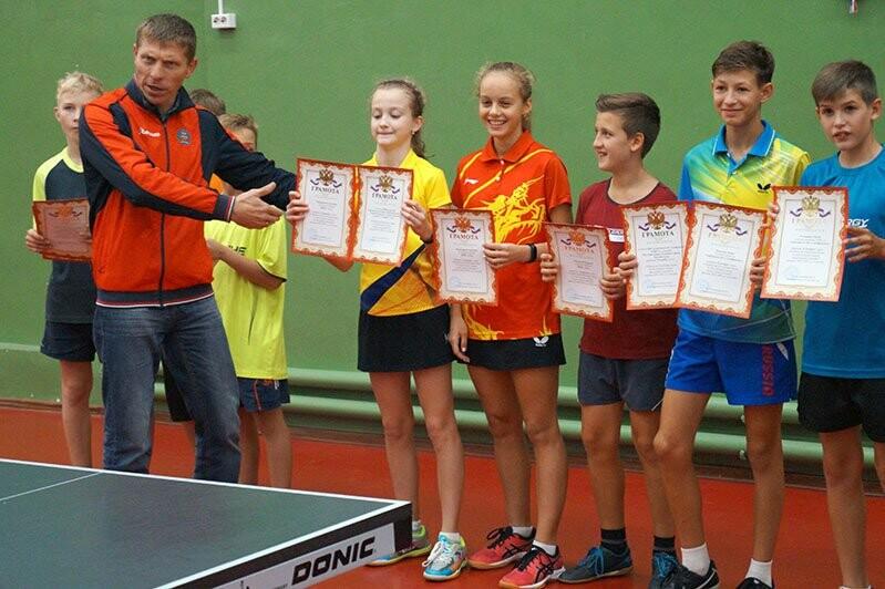 Ялтинские команды выиграли первые туры в Детской лиге Крыма по настольному теннису, фото-13
