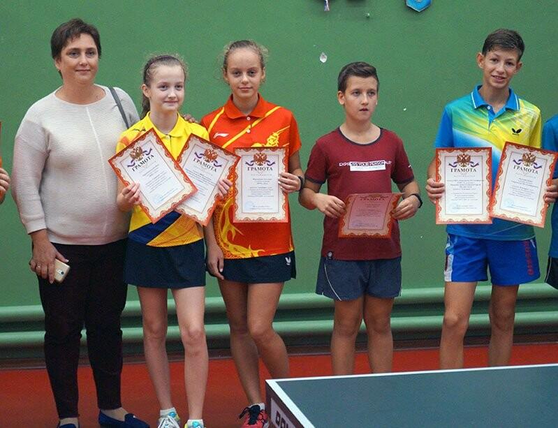 Ялтинские команды выиграли первые туры в Детской лиге Крыма по настольному теннису, фото-14