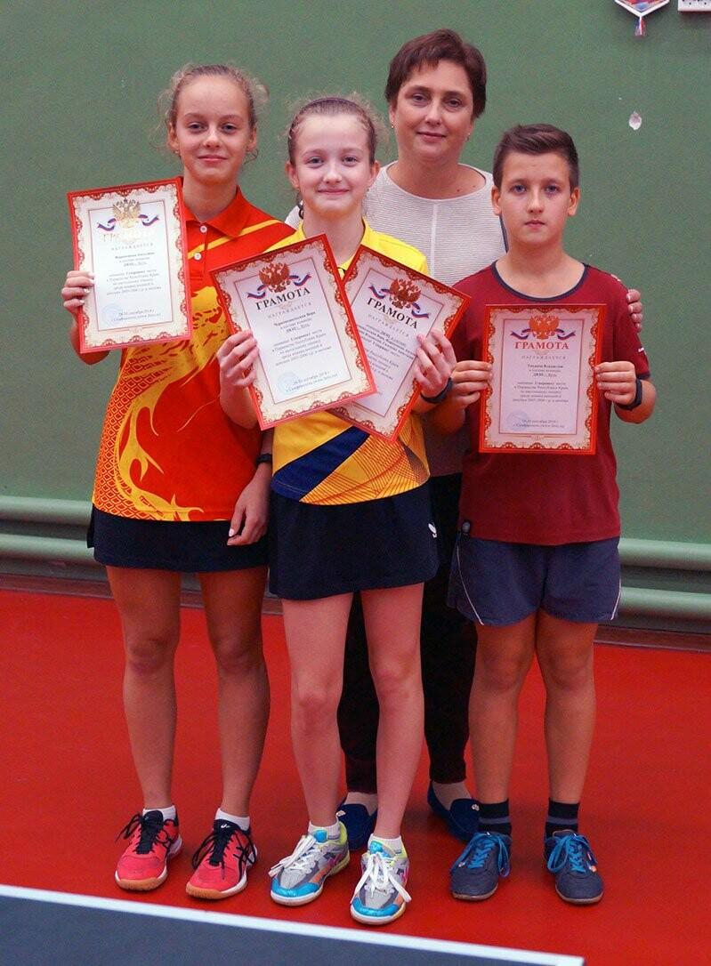 Ялтинские команды выиграли первые туры в Детской лиге Крыма по настольному теннису, фото-17