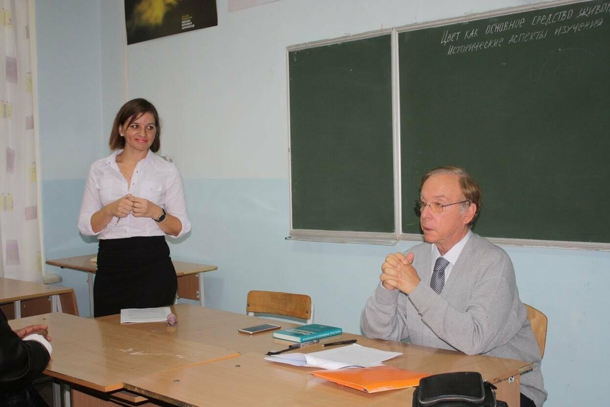 Профессор из Франции провёл занятие со студентами Гуманитарно-педагогической академии в Ялте, фото-6