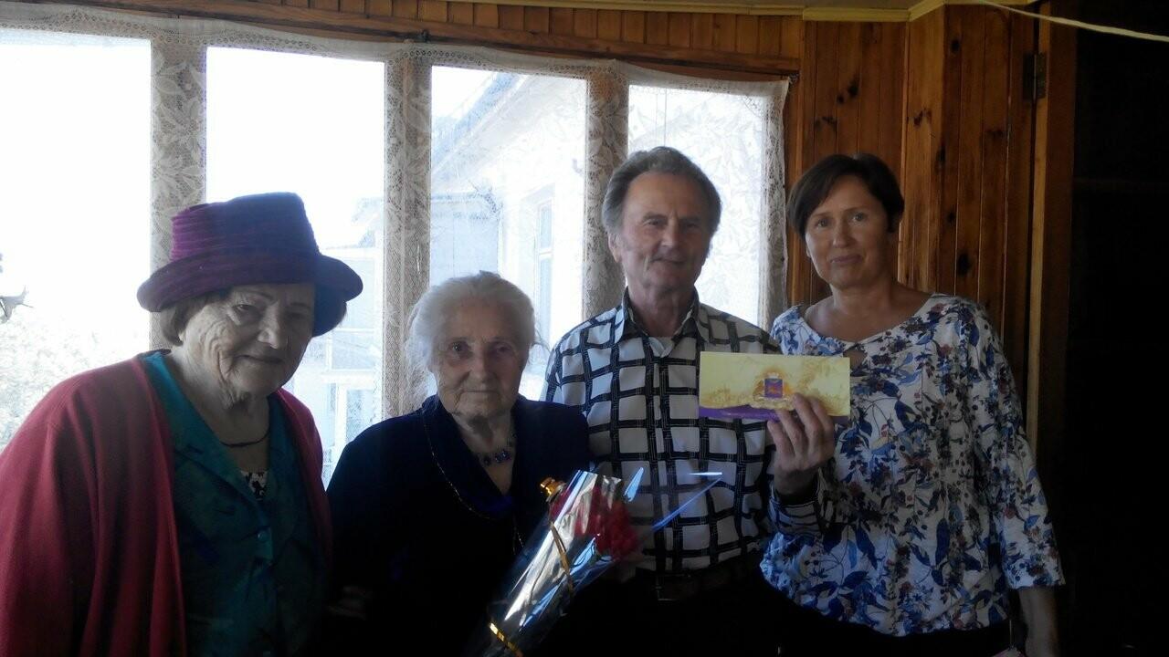 Ялтинские ветераны принимали поздравления с юбилеями, фото-2