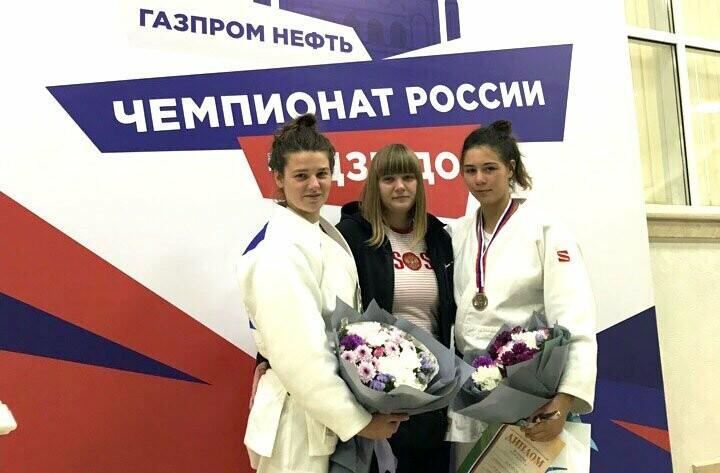 Алупкинские дзюдоистки стали призерами Чемпионата России, фото-1
