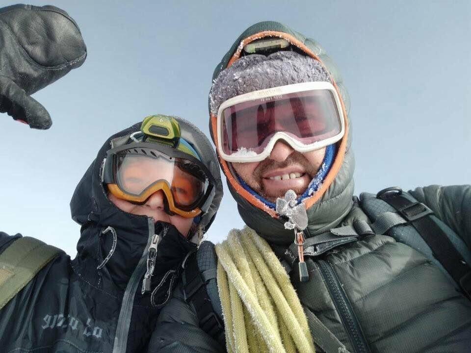 Ялтинец покорил гору Казбек, фото-2