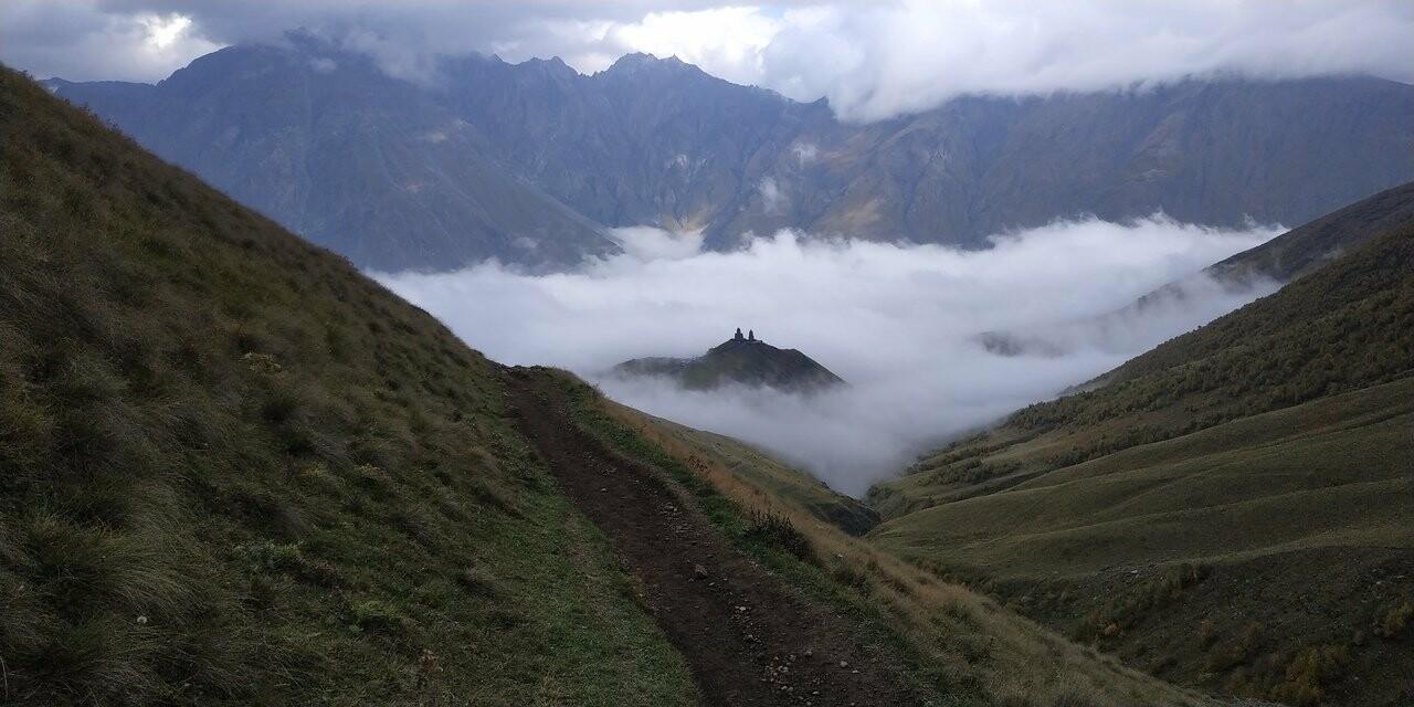 Ялтинец покорил гору Казбек, фото-4
