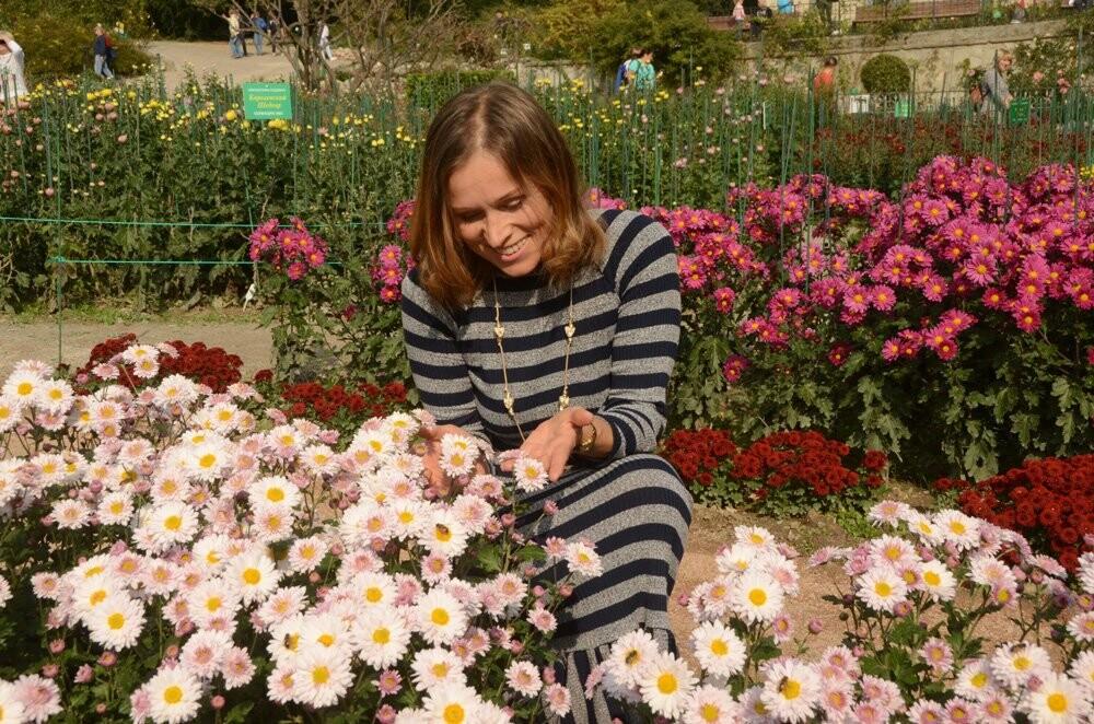 В Никитском саду открылась 65-я выставка хризантем, фото-3