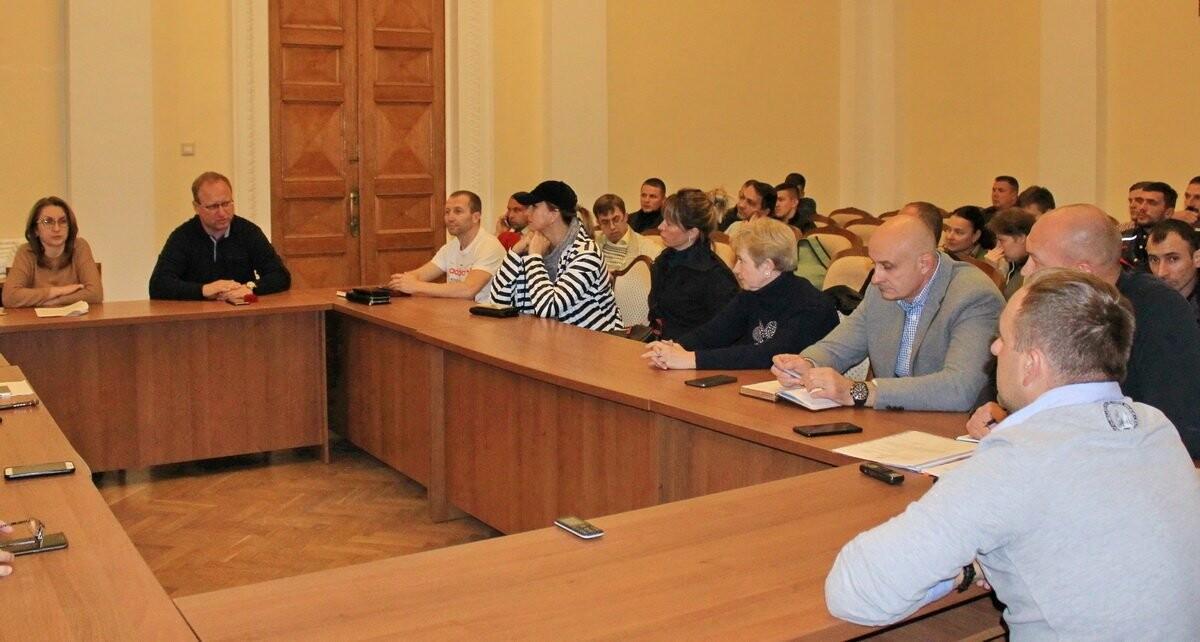 В Ялтинском горсовете состоялось заседание, посвящённое открытию в Ялте Центра единоборств, фото-1